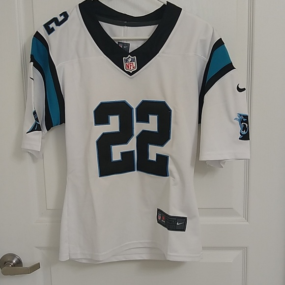 release date: 4ef52 6e18b NWOT Carolina Panthers 22 McCaffrey jersey